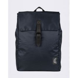 The Pack Society Square Backpack Solid Dark Blue