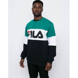 Fila Straight Blocked Black-Bright White-Shady Glade L