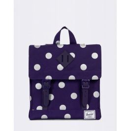 Herschel Supply Survey Kids Parachute Purple Polka Dot/Parachute Purple Rubber