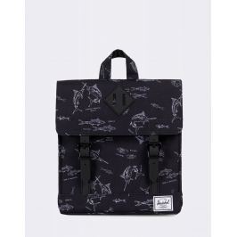 Herschel Supply Survey Kids Saltwater/Black Rubber
