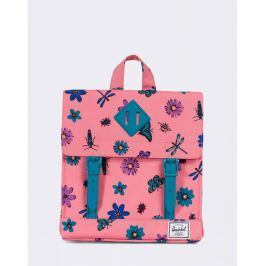Herschel Supply Survey Kids Strawberry Ice Central Park/Ocean Depths Rubber