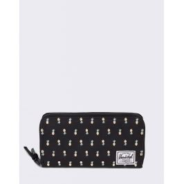 Herschel Supply Thomas RFID Black Pineapple Embroidery