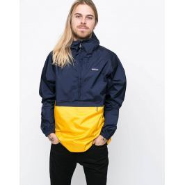 Patagonia Torrentshell P/O Navy Blue w/Rugby Yellow L