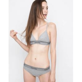 Calvin Klein UNLINED TRIANGLE Grey Heather L
