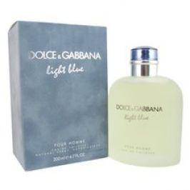 Dolce Gabbana Light Blue pour Homme pánská toaletní voda ( exkluzivní velké balení ) 200 ml