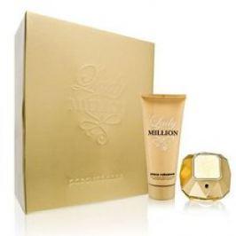 PACO RABANNE Lady Million Dárková sada dámská parfémovaná voda 80 ml a tělové mléko Lady Million 100 ml