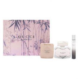 Gucci Bamboo Dárková sada dámská parfémovaná voda 75 ml, tělové mléko Bamboo 100 ml a miniaturka Bamboo dámská parfémovaná voda 7,4 ml