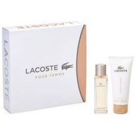 LACOSTE Lacoste pour Femme Dárková sada dámská parfémovaná voda 50 ml a tělové mléko Lacoste pour Femme 100 ml