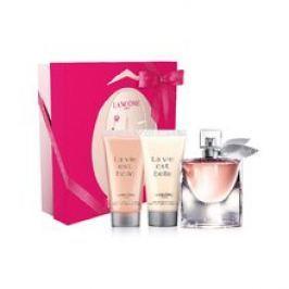 LANCOME La Vie Est Belle Dárková sada dámská parfémovaná voda 50 ml, tělové mléko La Vie Est Belle 50 ml a sprchový gel La Vie Est Belle 50 ml