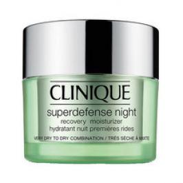 Clinique Superdefense Night Recovery Moisturizer ( velmi suchá, suchá a smíšená pleť ) - Noční hydratační krém  50 ml