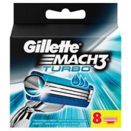 Gillette Mach3 Turbo ( 8 ks ) - Náhradní Hlavice