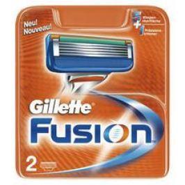 Gillette Fusion ( 2 ks ) - Náhradní hlavice  Holicí strojky