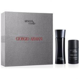 Armani Code for Men Dárková sada pánská toaletní voda 75 ml a deostick Code for Men 75 ml