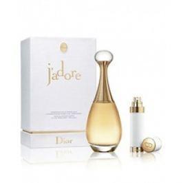 Dior J´adore Dárková sada dámská parfémovaná voda 75 ml a plnitelný flakón 7,5 ml
