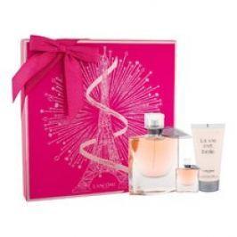 Lancome La Vie Est Belle Dárková sada dámská parfémovaná voda 75 ml, miniaturka dámská parfémovaná voda 4 ml a tělové mléko 50 ml