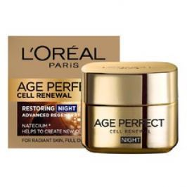 L´oreal AGE PERFECT Cell Renew Night Cream - Noční regenerační krém  50 ml