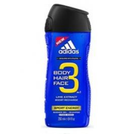 Adidas A3 Men Sport Energy 3v1 Sprchový gel  250 ml