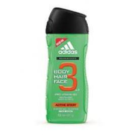 Adidas A3 Men Active Start 3v1 Sprchový gel  250 ml