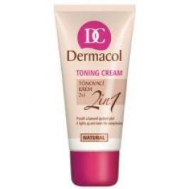 Dermacol Toning Cream 2 in 1 - Tónovací krém 30 ml  - Odstín Natural