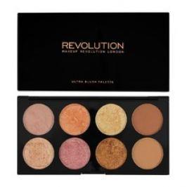 Makeup Revolution Ultra Blush Palette Golden Sugar 2 - Paletka tvářenek 13 g