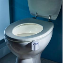 LED osvětlení WC mísy