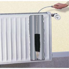 Čistící kartáč na radiátor