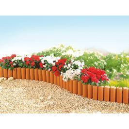 Zahradní palisáda terakota