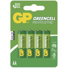 Baterie GP Greencell R6 (AA), 4 ks
