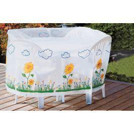 Ochranný obal na stůl a židle Slunečnice