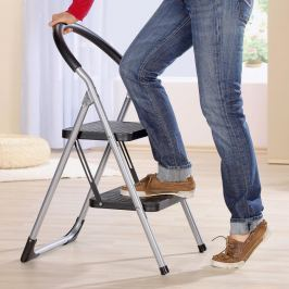 2 v 1: Schůdky a židlička