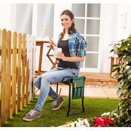 Zahradní stolička a klekátko