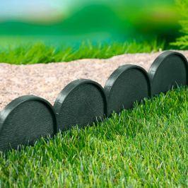 Zahradní obrubník - palisáda zelená,10 m