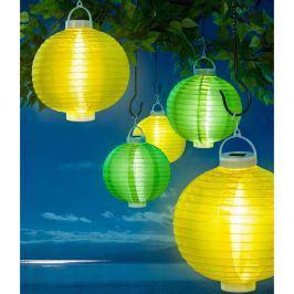 Solární lampion, zelený