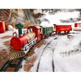 Zimní vlak se světlem a zvukem, 13 dílů