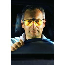 Nástavec na brýle pro noční jízdu