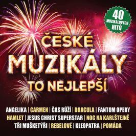Různí, České muzikály - To nejlepší, CD