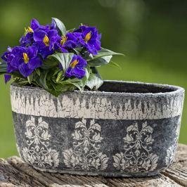 Dekorační keramický květináč Liana