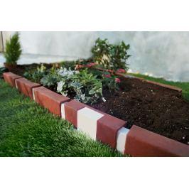 Solární zahradní obrubník, 10 dílů
