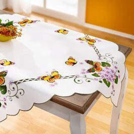 Ubrus na stůl Motýl, 85 x 85 cm