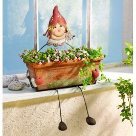 Květináč Dívka Dekorace do zahrady