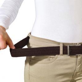 Superelastický pletený pásek, hnědý - 120 cm