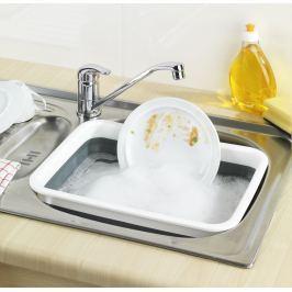 Lavor na mytí skládací obdélníkový, šedý