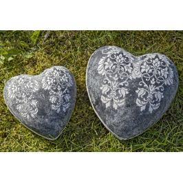 Dekorační keramické srdce Liana, ⌀ 11 cm
