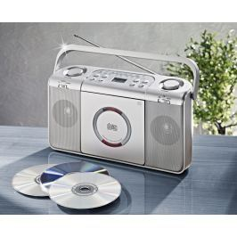 Přenosné rádio s CD přehrávačem