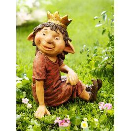 Dekorační figurka skřítka Princezna
