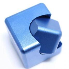 Spinner Cube - kovová antistresová kostka modrá