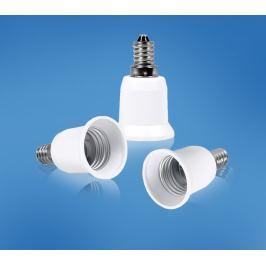 Žárovkový adaptér z E14 na E27, 3 ks