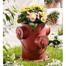 Květináč Hydrant kovový, 36 cm