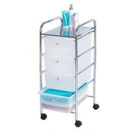 Koupelnový vozík se 4 úložnými boxy Messina