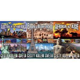 Cesty kolem světa (komplet 3 DVD)